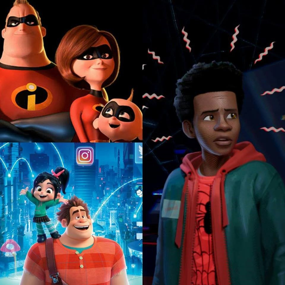 """Quyết tâm """"bao lô"""" hạng mục hoạt hình tại Oscar 2019 có khiến Disney thắng nổi vũ trụ nhện mới? - Ảnh 1."""