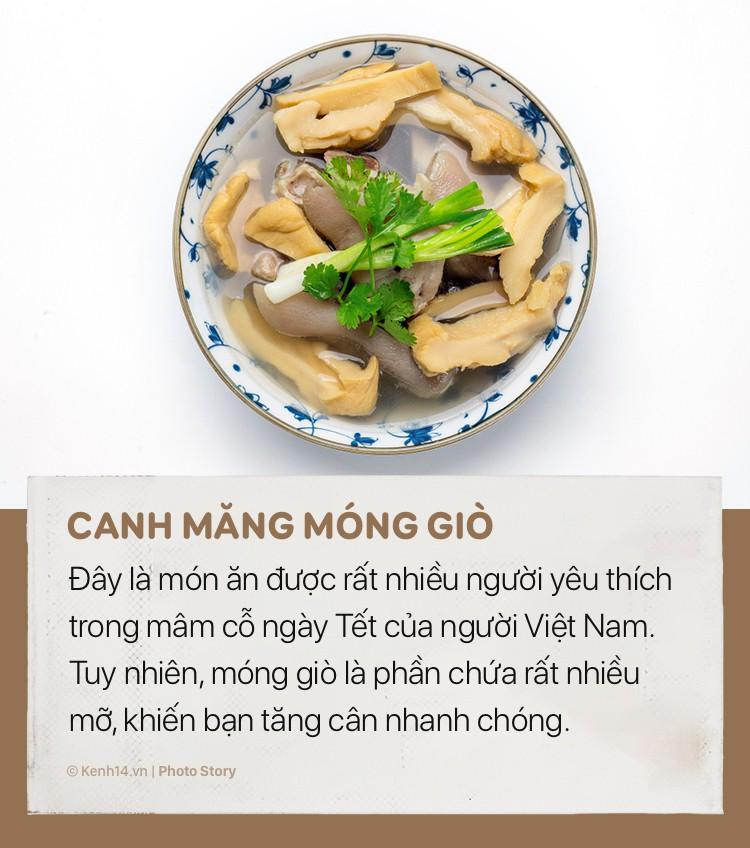 Món ăn khiến bạn tăng cân vùn vụt trong dịp Tết Nguyên đán - Ảnh 11.