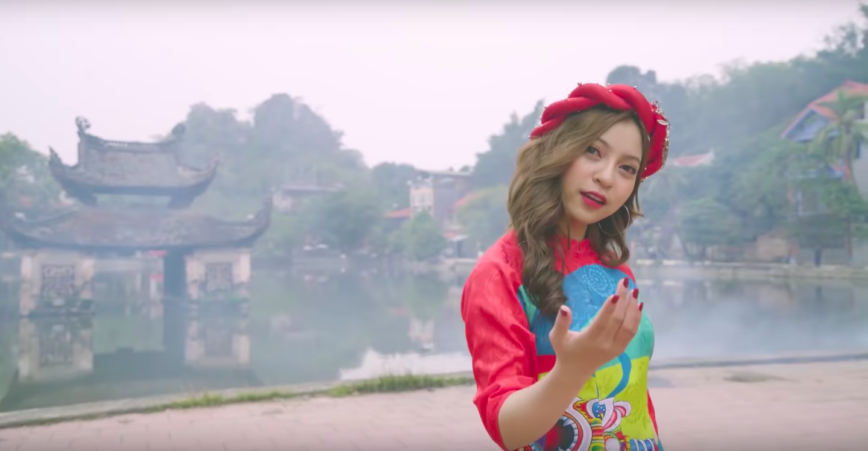 Tung MV đầu tay về Tết, bạn gái Quang Hải khẳng định: Tôi không tranh thủ dựa hơi bạn trai - Ảnh 3.