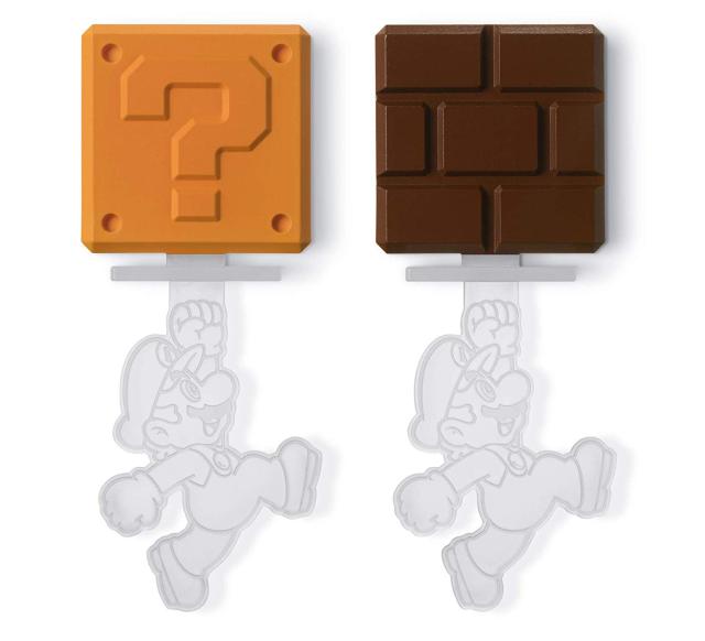 Sắm ngay khuôn silicon kiểu Mario để sau Tết đúc chocolate cho người yêu ăn vào dịp Valentine - Ảnh 2.