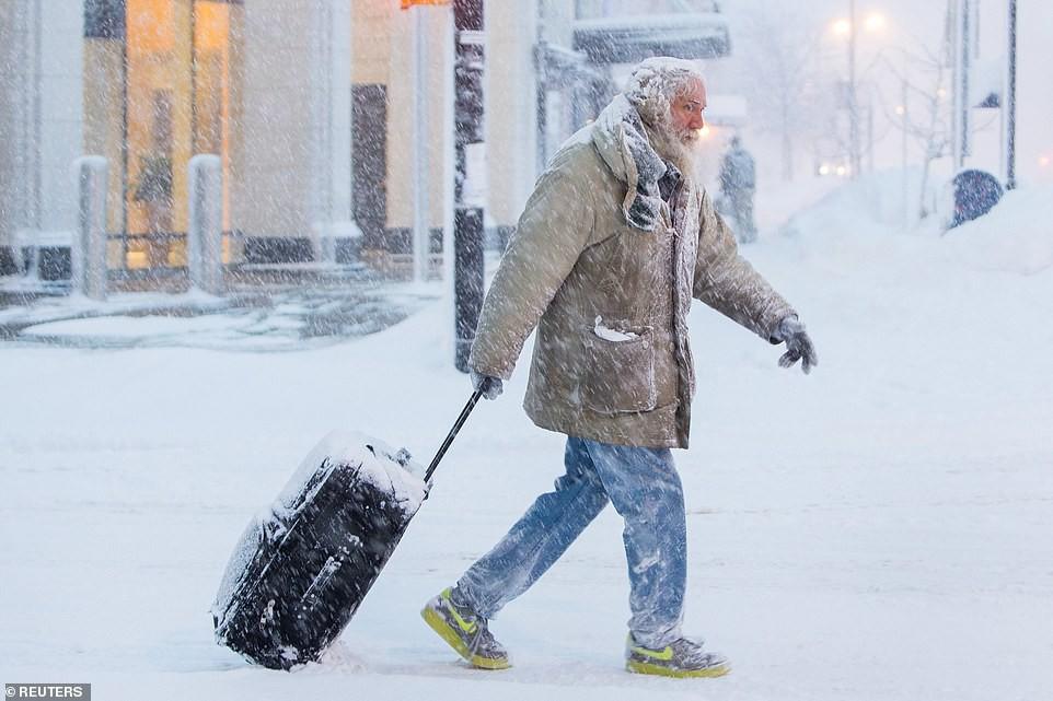 Thời tiết điên rồ: Nhiều nơi đón mùa xuân, riêng ở Mỹ rét hơn cả Alaska và Nam Cực - Ảnh 11.