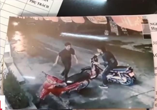 Công bố hình ảnh nghi phạm vụ sát hại tài xế taxi gần SVĐ Mỹ Đình - Ảnh 1.