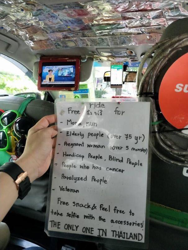 15 tài xế taxi cực tâm lý và đáng yêu, hành khách không cho 5 sao quả là thiếu sót - Ảnh 7.