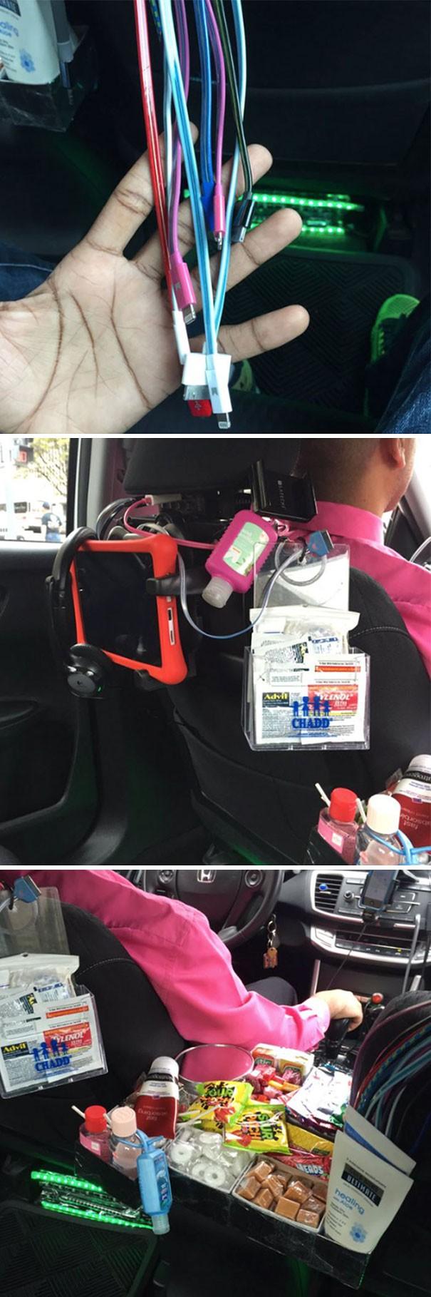15 tài xế taxi cực tâm lý và đáng yêu, hành khách không cho 5 sao quả là thiếu sót - Ảnh 8.