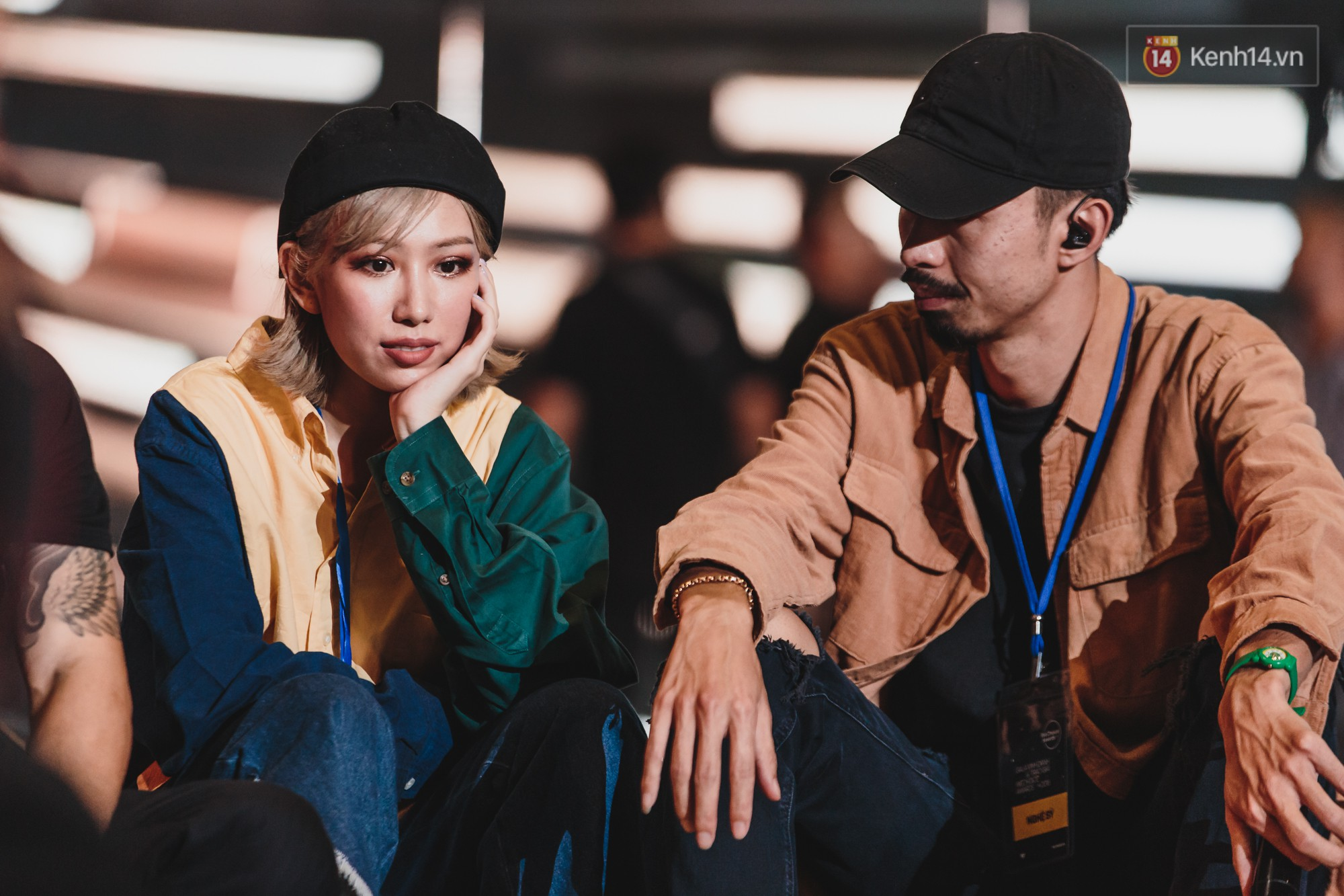 Tổng duyệt Gala WeChoice Awards 2018: Min nằm lăn ra sàn, hiện tượng Hongkong1 và Cô gái m52 lần đầu kết hợp - Ảnh 5.