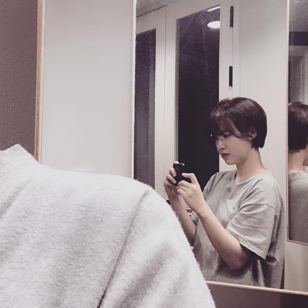 Nàng cỏ Goo Hye Sun vừa cắt tóc ngắn, nhan sắc nhỉnh lên bội phần và lại còn hack thêm được vài tuổi - Ảnh 1.