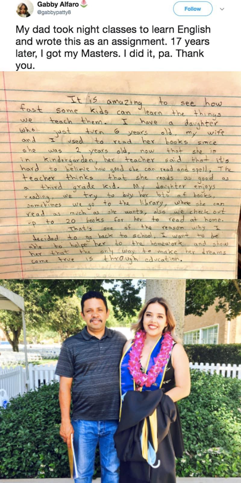 Những câu chuyện cảm động trong lễ tốt nghiệp khiến ta nhận ra, chỉ có gia đình mới thương mình vô điều kiện - Ảnh 5.