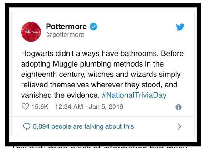 Tác giả J.K. Rowling vừa chia sẻ một bí mật về thế giới phù thủy mà không một fan Harry Potter nào muốn biết - Ảnh 1.