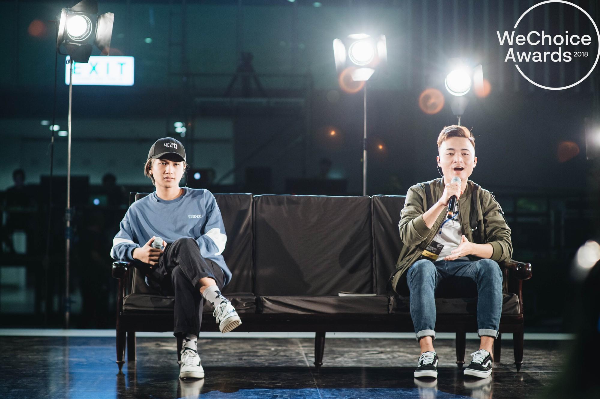 Trước giờ G, ngắm loạt khoảnh khắc đầy cảm xúc của dàn nghệ sĩ tại buổi tổng duyệt Gala Wechoice Awards 2018 - Ảnh 10.