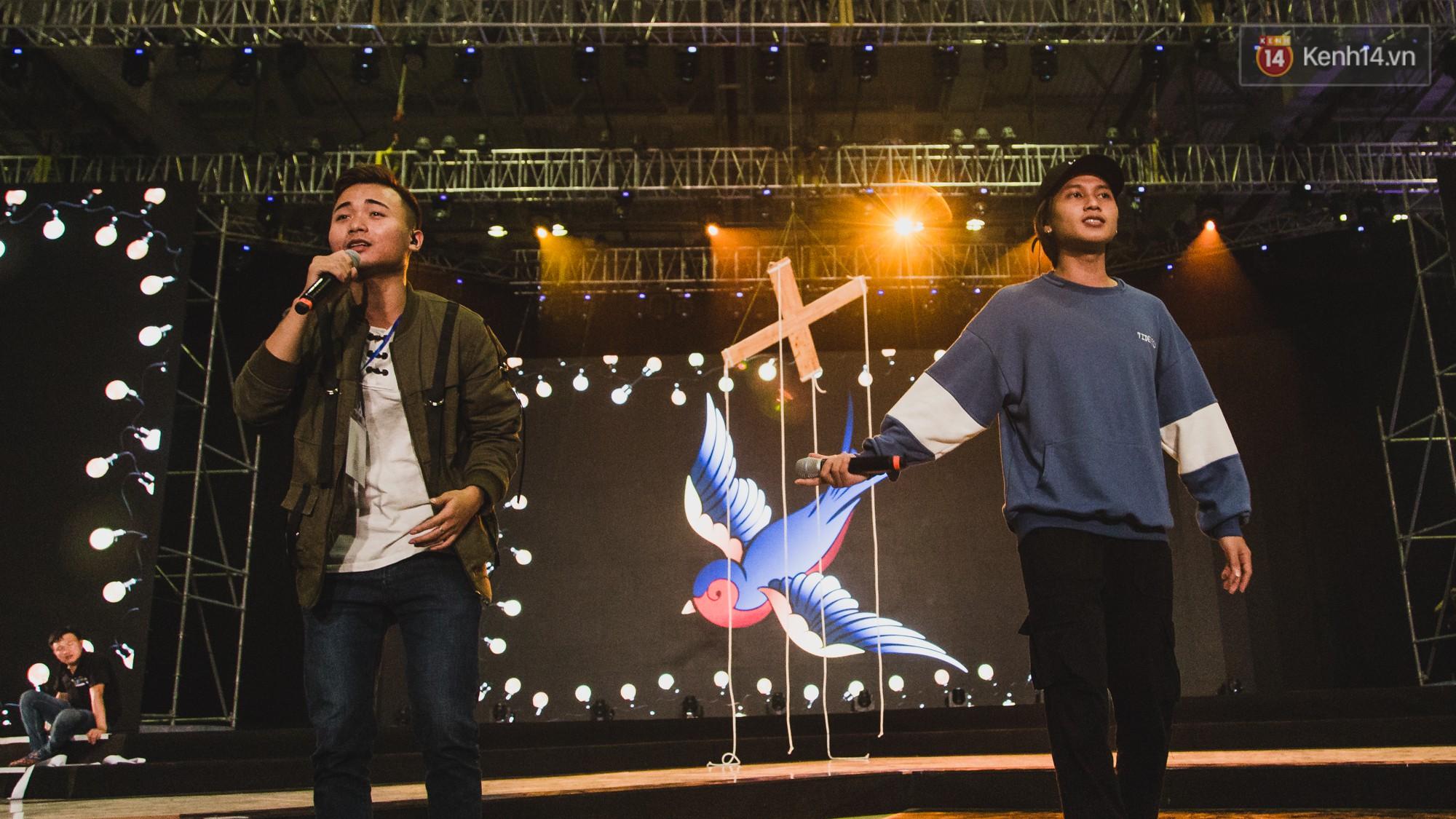 BinZ, Andree, Kimmese xuất hiện cực ngầu, cùng dàn nghệ sĩ tổng duyệt lần cuối sát giờ G Gala WeChoice - Ảnh 9.