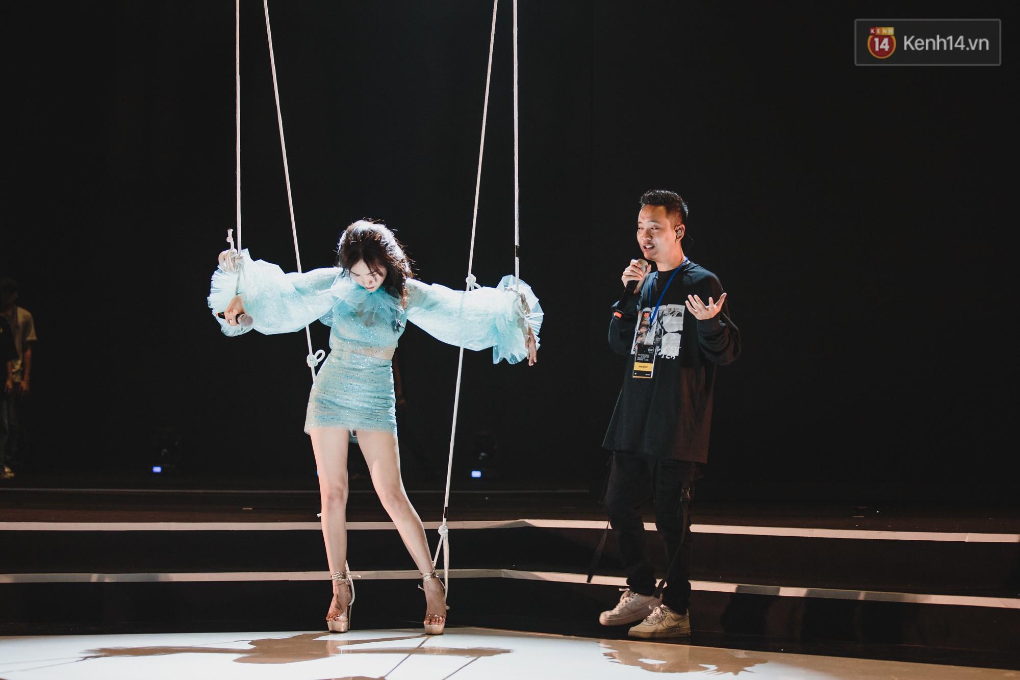 BinZ, Andree, Kimmese xuất hiện cực ngầu, cùng dàn nghệ sĩ tổng duyệt lần cuối sát giờ G Gala WeChoice - Ảnh 6.