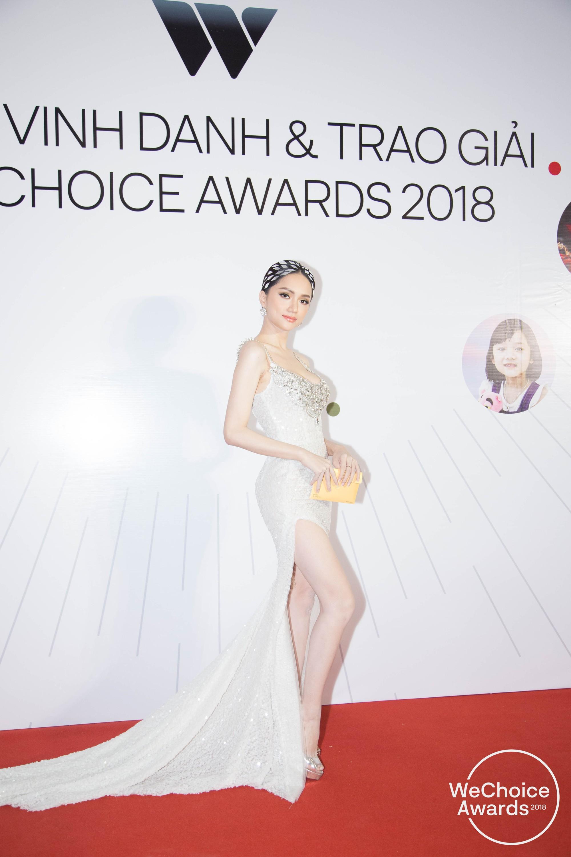 Màn đọ sắc cực gắt của dàn Hoa hậu đình đám nhất Vbiz trên thảm đỏ WeChoice: Sang chảnh và đỉnh cao là đây! - Ảnh 3.