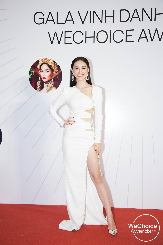 Màn đọ sắc cực gắt của dàn Hoa hậu đình đám nhất Vbiz trên thảm đỏ WeChoice: Sang chảnh và đỉnh cao là đây! - Ảnh 21.