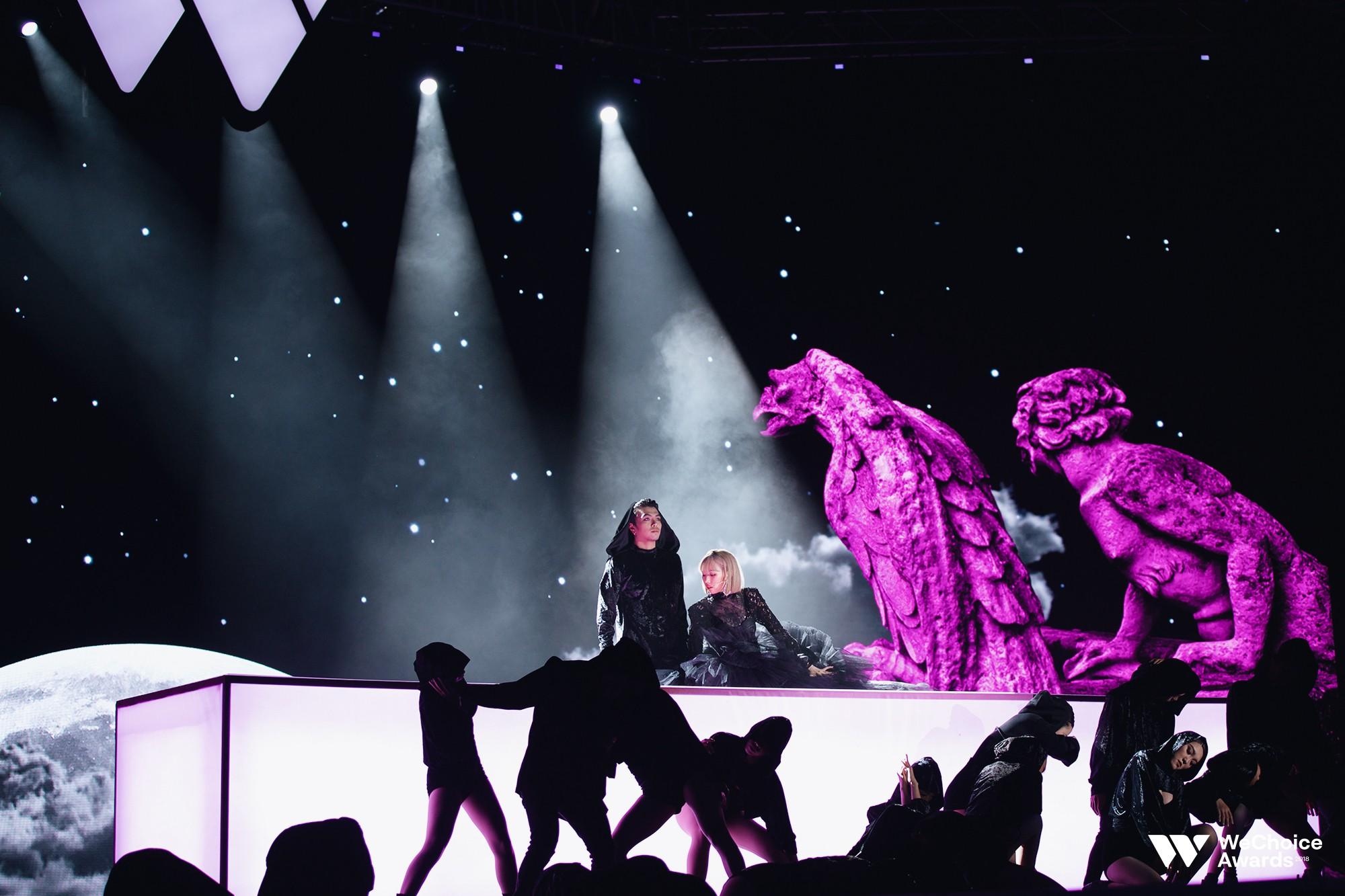 Clip: Tất tần tật các sân khấu đã tai mãn nhãn trong đêm Gala WeChoice Awards 2018 - Ảnh 6.