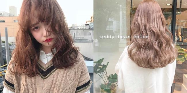 """Tóc nhuộm Teddy bear: Tông màu mới mở màn năm 2019, """"hack tuổi"""" cực siêu và nàng công sở không thử qua thì quá phí - Ảnh 6."""