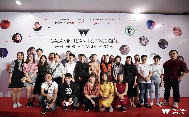 Nhà của thời thanh xuân và chuyến xe Thanh Xuân hơn 30 người đến với Gala WeChoice Awards 2018 - Ảnh 4.