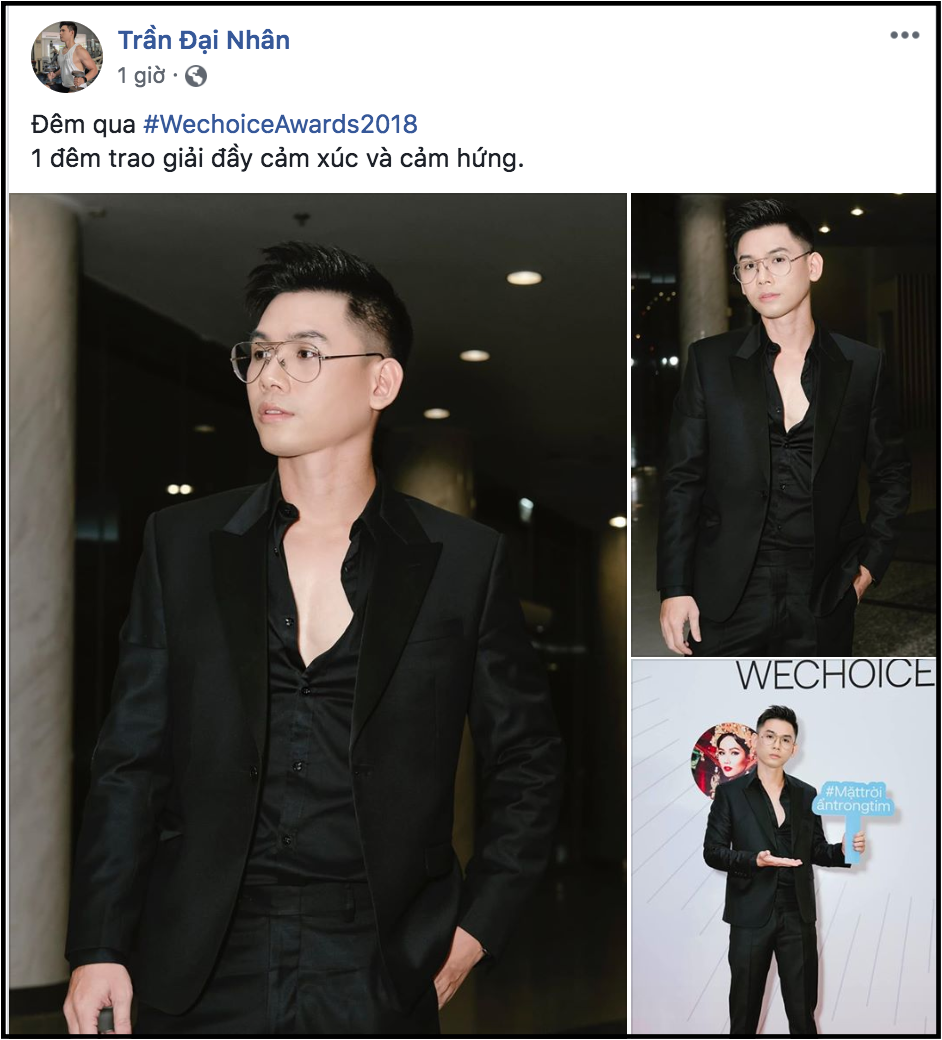 Nghệ sĩ Việt bày tỏ cảm xúc sau đêm Gala WeChoice Awards 2018: Vỡ oà xúc động, hạnh phúc vì những câu chuyện đầy ý nghĩa! - Ảnh 13.