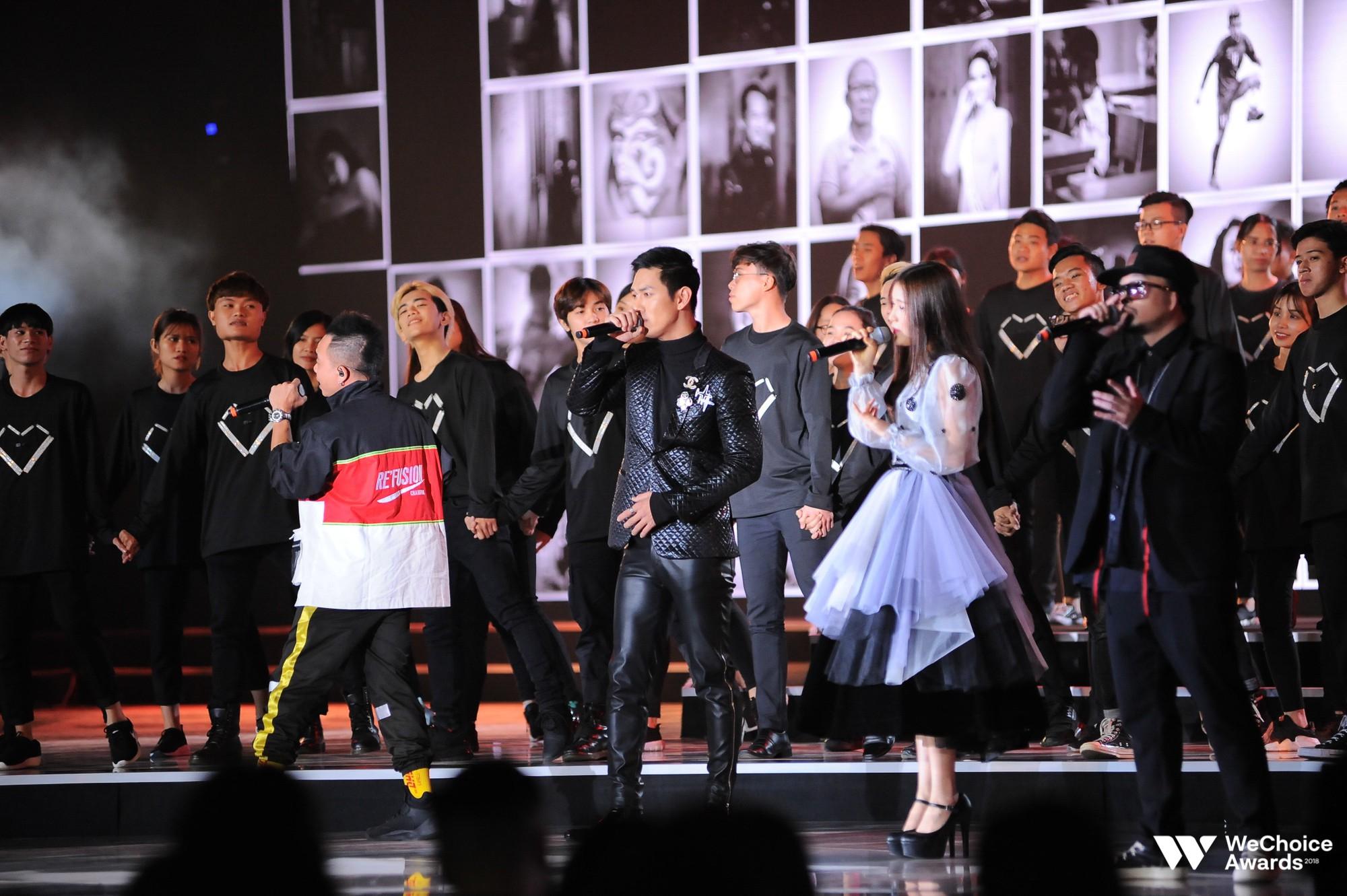 Clip: Tất tần tật các sân khấu đã tai mãn nhãn trong đêm Gala WeChoice Awards 2018 - Ảnh 16.