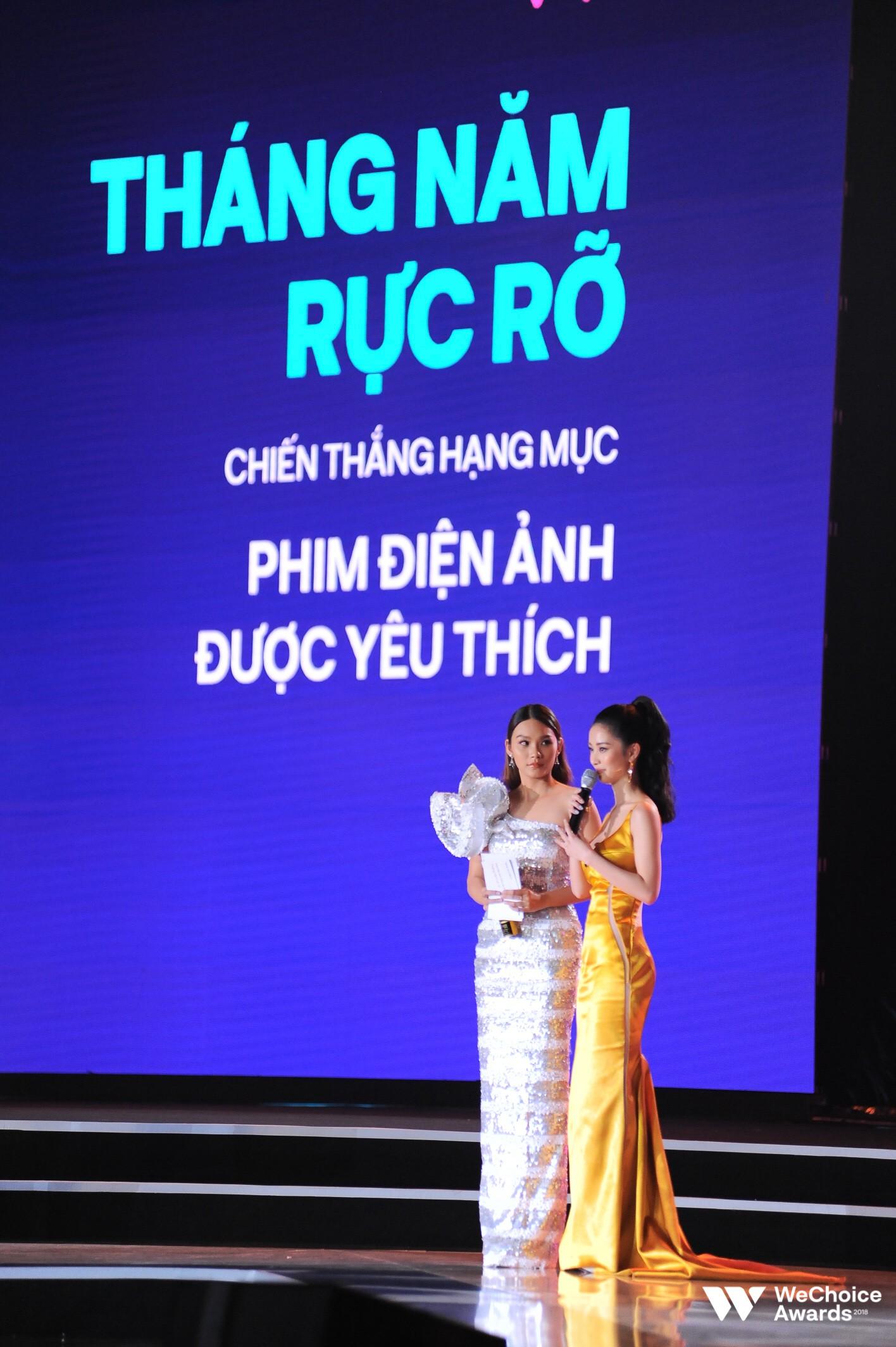 Ba hạng mục danh giá dành cho phim Việt đã tìm ra chủ nhân tại đêm trao giải WeChoice Awards 2018 - Ảnh 4.