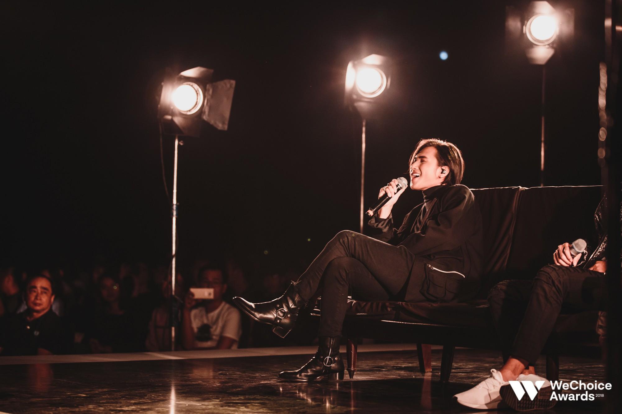 Nguyễn Trọng Tài đẹp trai hút hồn, mang HongKong 1 mash-up với hiện tượng Cô Gái M52 tại Gala WeChoice Awards 2018 - Ảnh 5.