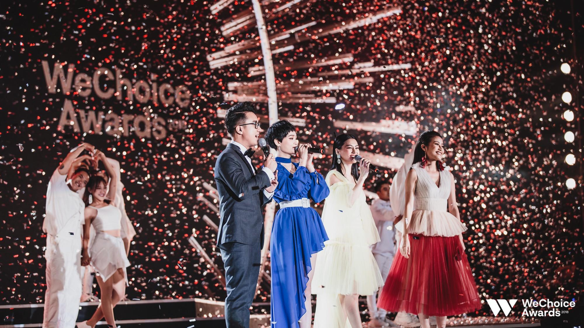Khán giả nhún nhảy, hát theo cùng Hiền Hồ, Bùi Lan Hương trong ca khúc linh hồn của WeChoice Awards - Ảnh 7.