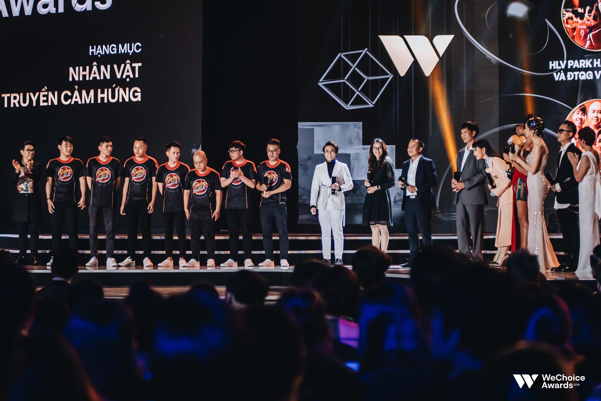 Gala WeChoice Awards 2018: Một đêm văn minh của niềm cảm hứng đẹp đẽ và những khán giả dõi theo đến tận phút cuối cùng - Ảnh 7.