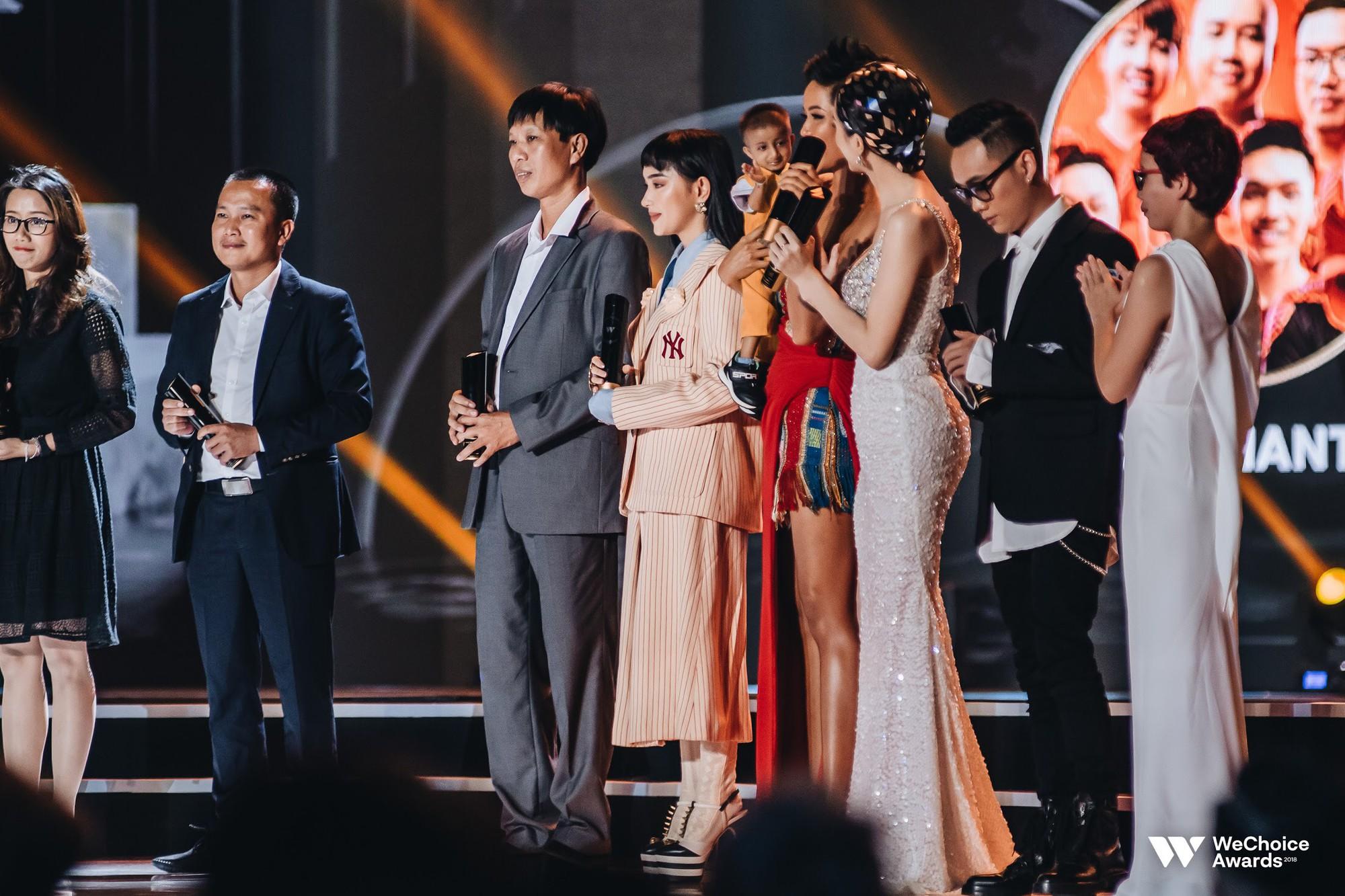 Gala WeChoice Awards 2018: Một đêm văn minh của niềm cảm hứng đẹp đẽ và những khán giả dõi theo đến tận phút cuối cùng - Ảnh 6.