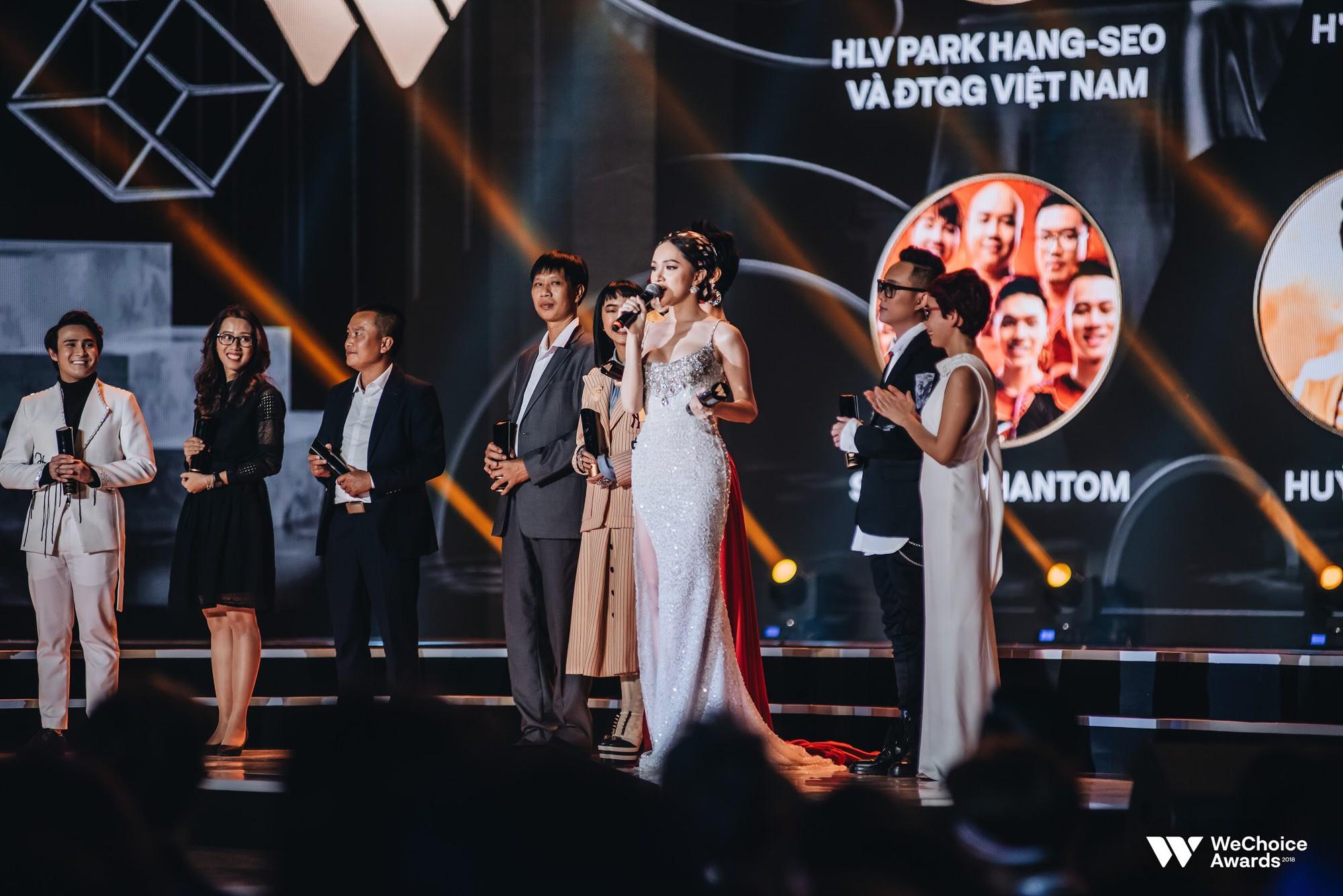 Gala WeChoice Awards 2018: Một đêm văn minh của niềm cảm hứng đẹp đẽ và những khán giả dõi theo đến tận phút cuối cùng - Ảnh 5.