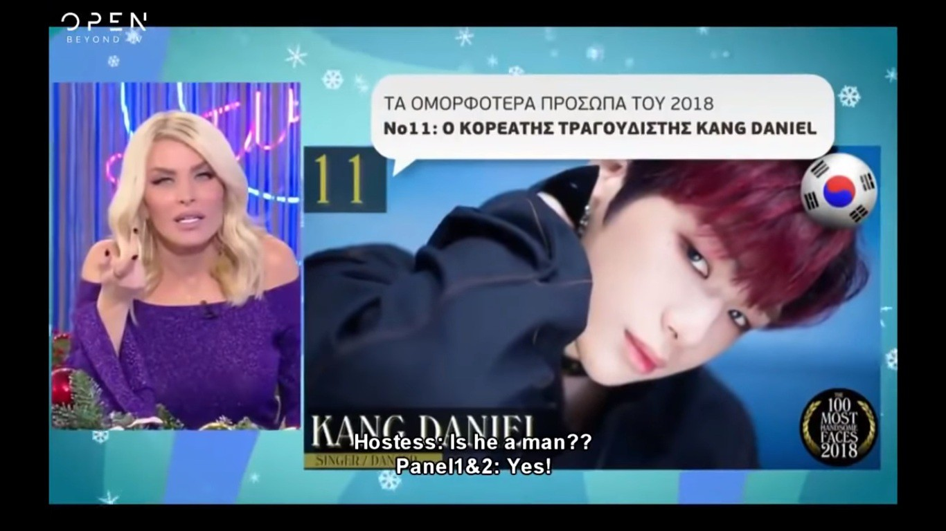 Show truyền hình Hy Lạp bị ném đá khi xúc phạm lộ liễu Jungkook, V (BTS), Sehun (EXO), Kang Daniel - Ảnh 2.