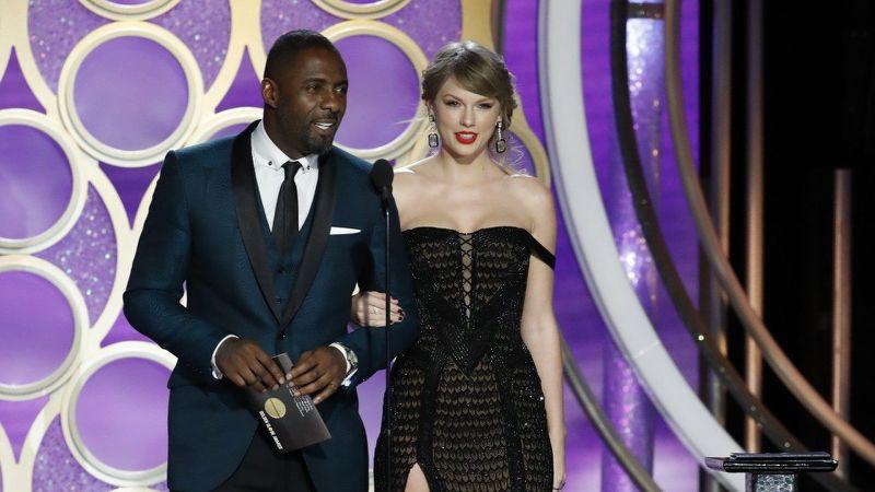 Lady Gaga bật khóc nức nở khi được Taylor Swift xướng tên tại lễ trao giải Quả Cầu Vàng - Ảnh 3.