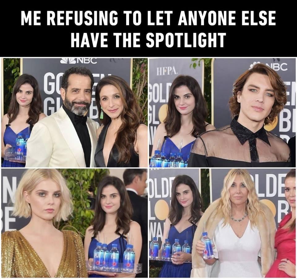 Minh tinh Hollywood phẫn nộ lên tiếng khi bị cô gái bưng nước giật mất spotlight ở Quả Cầu Vàng 2019 - Ảnh 2.