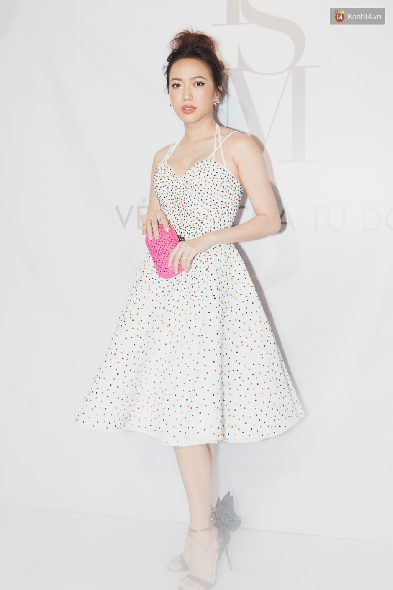Spotlight thảm đỏ của NTK Lý Quí Khánh: Khi Hòa Minzy trông còn Hoa hậu hơn cả Hoa hậu Tiểu Vy - Ảnh 11.