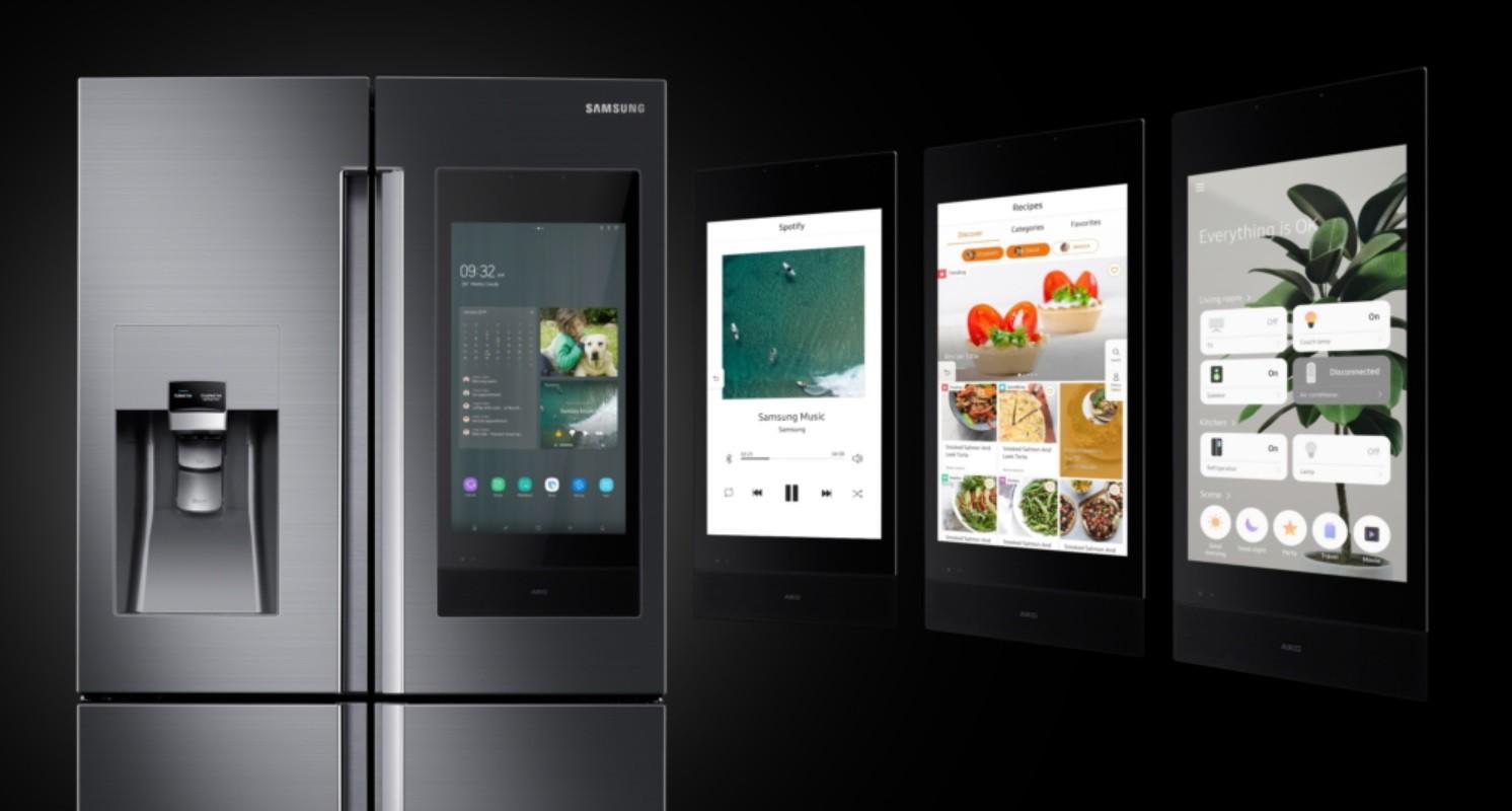 Samsung giới thiệu tủ lạnh thông minh thế hệ mới: Láu lỉnh đến nỗi biết nhắn tin nhắc khéo chủ nhân quên đóng cửa - Ảnh 1.