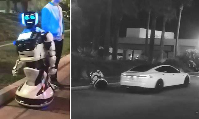 Máy móc đại chiến: 1 con robot tự ý tách đoàn bị xe tự lái Tesla tông chết - Ảnh 2.