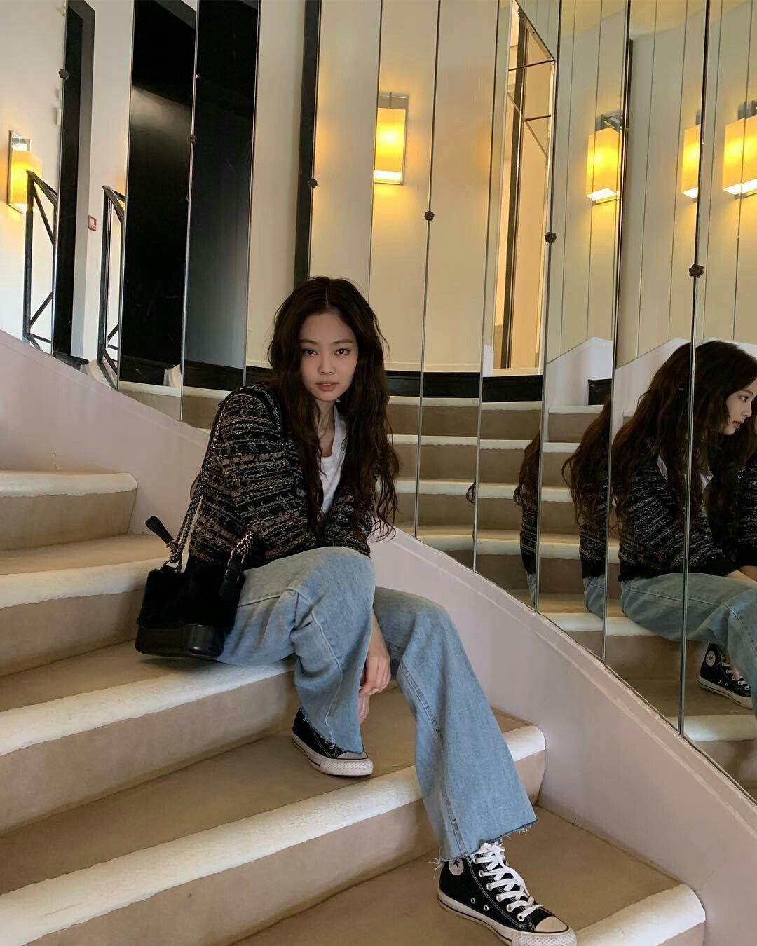 """Diện """"áo đôi"""" với Jennie theo 1 cách khác mà vẫn đẹp ngang ngửa, Jisoo quả xứng danh """"đỉnh cao Visual"""" - Ảnh 6."""