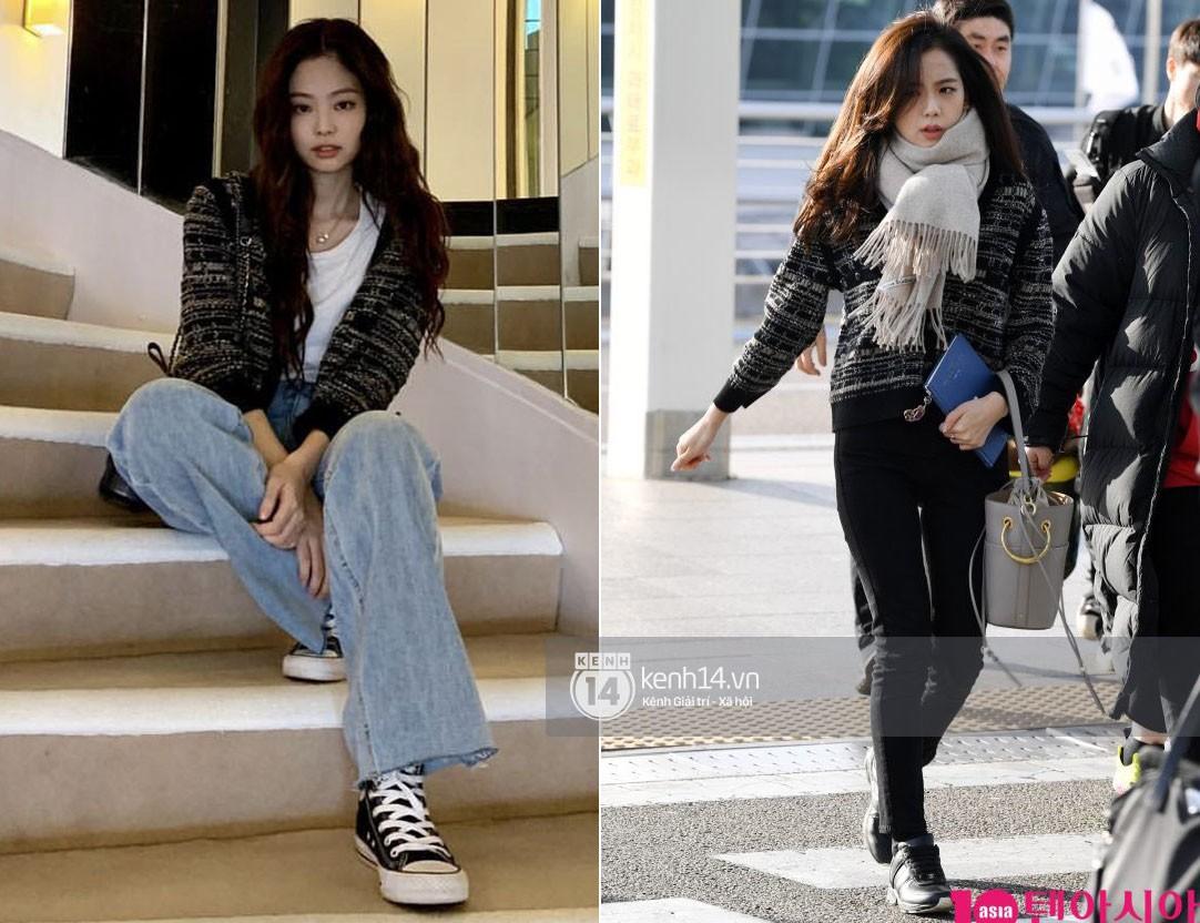 """Diện """"áo đôi"""" với Jennie theo 1 cách khác mà vẫn đẹp ngang ngửa, Jisoo quả xứng danh """"đỉnh cao Visual"""" - Ảnh 10."""