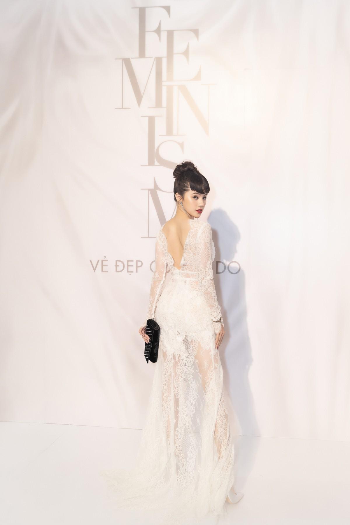 Spotlight thảm đỏ của NTK Lý Quí Khánh: Khi Hòa Minzy trông còn Hoa hậu hơn cả Hoa hậu Tiểu Vy - Ảnh 6.