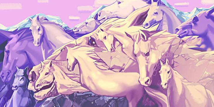 Bạn đếm được bao nhiêu con ngựa trong bức tranh này? Câu trả lời sẽ tiết lộ một số sự thật về chính con người bạn - Ảnh 1.