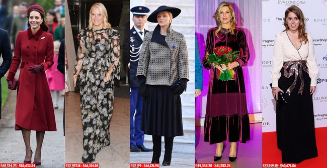 8 tháng làm dâu Hoàng gia, Meghan Markle đã chi tiền mua quần áo gấp 6 lần tủ đồ cả năm 2018 của Kate - Ảnh 5.