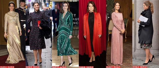 8 tháng làm dâu Hoàng gia, Meghan Markle đã chi tiền mua quần áo gấp 6 lần tủ đồ cả năm 2018 của Kate - Ảnh 6.