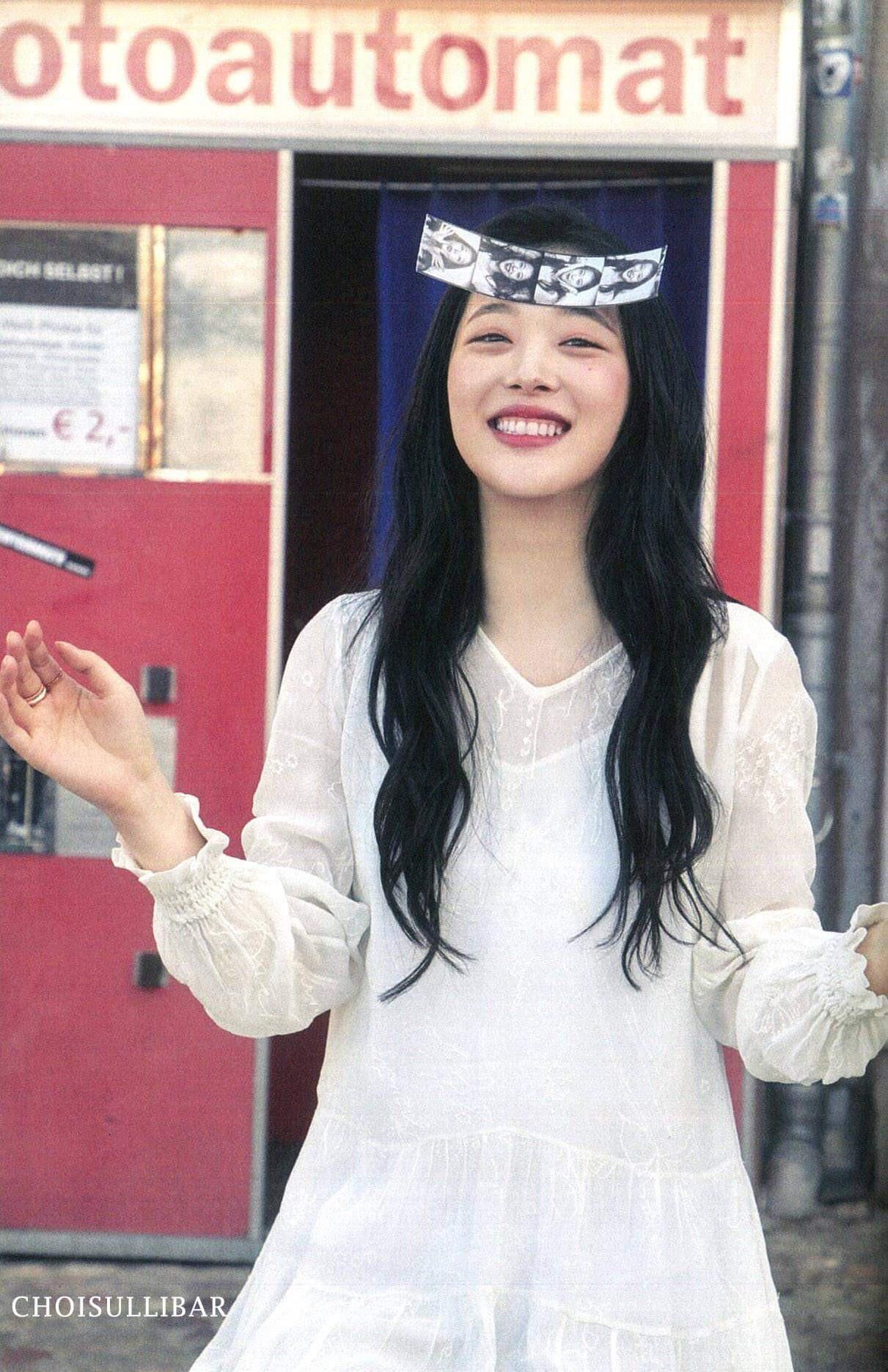 Sulli khiến netizen thay đổi 180 độ vì bộ ảnh chứng minh: Không nổi loạn, nhan sắc này có lẽ đã thành huyền thoại - Ảnh 10.