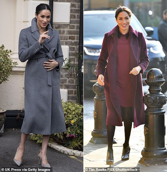 8 tháng làm dâu Hoàng gia, Meghan Markle đã chi tiền mua quần áo gấp 6 lần tủ đồ cả năm 2018 của Kate - Ảnh 8.