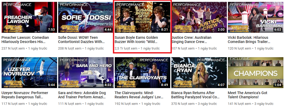 Đẳng cấp hiện tượng Susan Boyle: Lượt xem gần 3 triệu, bỏ xa mọi đối thủ tại Americas Got Talent - Ảnh 4.