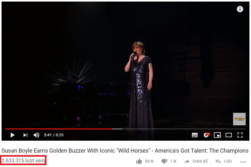 Đẳng cấp hiện tượng Susan Boyle: Lượt xem gần 3 triệu, bỏ xa mọi đối thủ tại Americas Got Talent - Ảnh 3.
