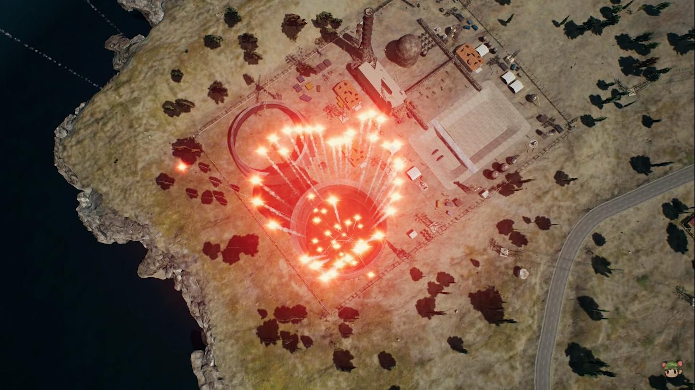 PUBG: Bắn 1000 Flare Gun lên trời, vẽ thành hình trái tim... và cái kết!