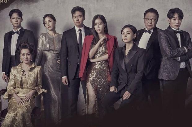 """Bom tấn truyền hình Graceful Family: Hít drama """"thủng phổi"""" với màn cung đấu của gia đình thượng lưu xứ kim chi - Ảnh 1."""