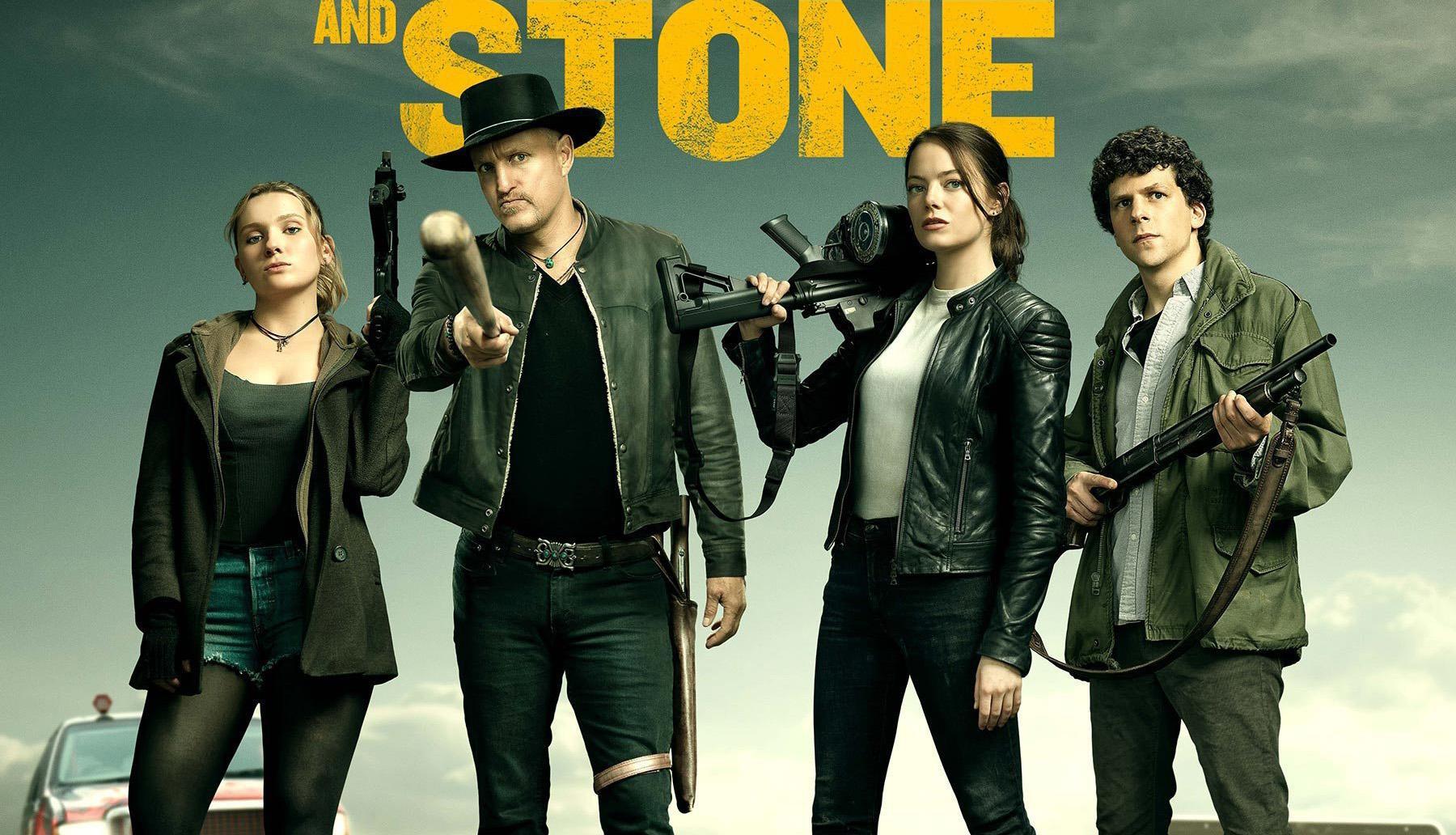 Zombieland 2 tung trailer: Emma Stone từng giã thây ma như chơi PUBG lại ngáo bất ngờ thế này! - Ảnh 7.