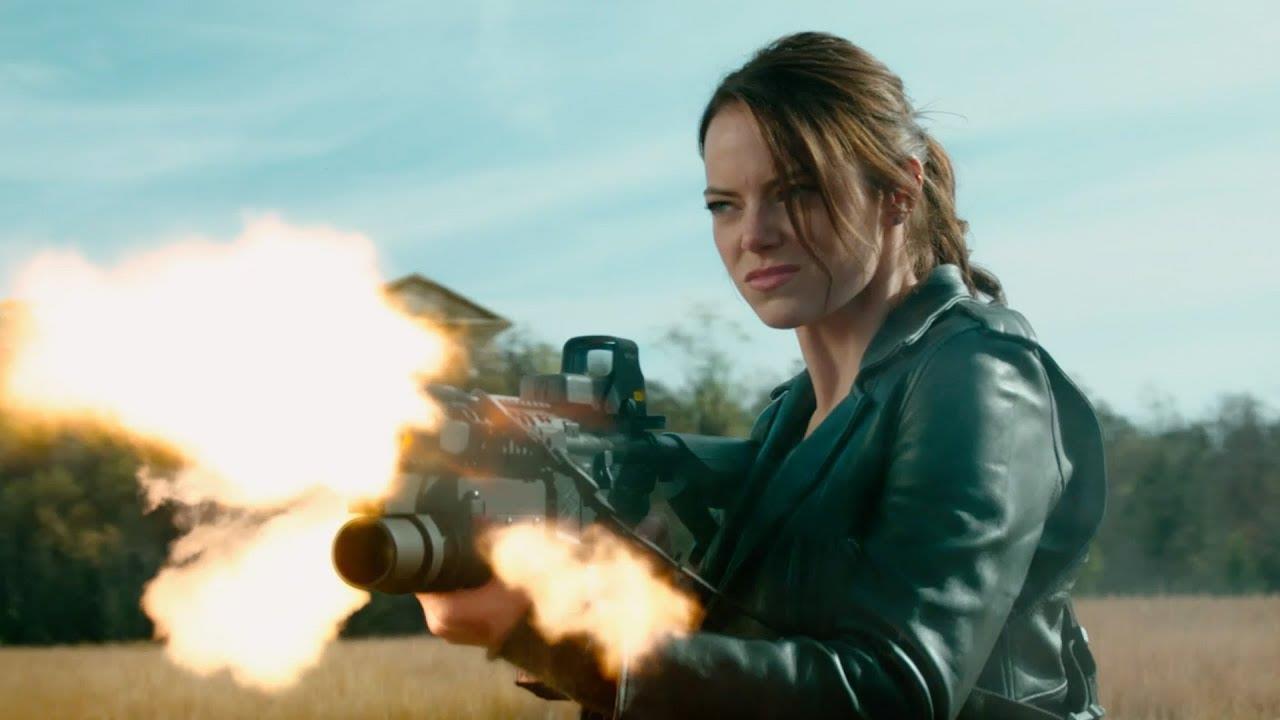 Zombieland 2 tung trailer: Emma Stone từng giã thây ma như chơi PUBG lại ngáo bất ngờ thế này! - Ảnh 8.