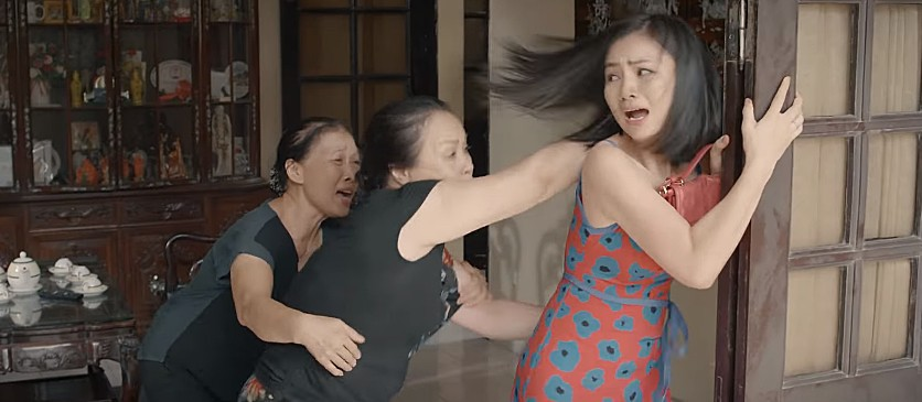 """Động trời Hoa Hồng Trên Ngực Trái tập 19: Bà Kim đầu độc con dâu đến vô sinh vì tội """"tiểu tam"""" mồi chài bố chồng? - Ảnh 3."""