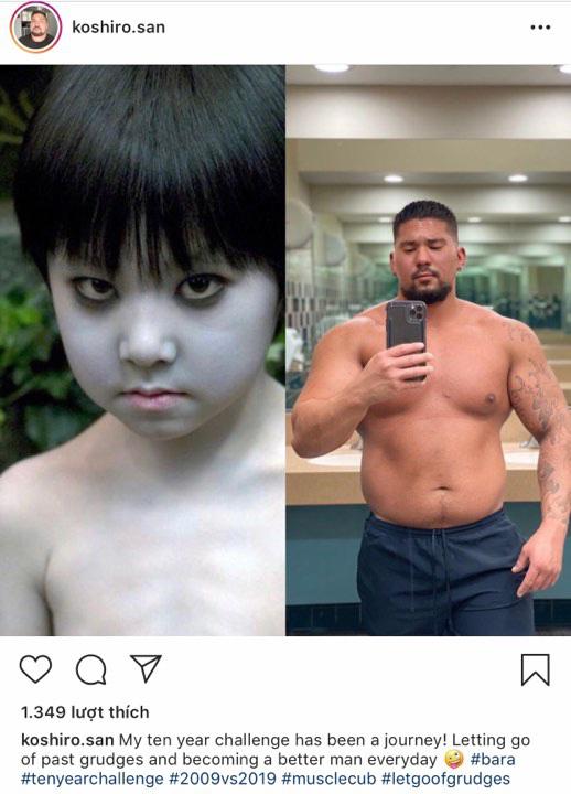 Lúc nhỏ đáng yêu như bé Sa, 10 năm sau sao nhí phim kinh dị xứ Nhật hoá cơ bắp hơn cả Phạm Văn Mách làm ai cũng sốc - Ảnh 3.